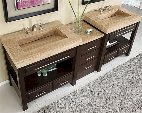 double sink bathroom vanity top silkroad 92 quot double sink cabinet w drawer bank vanity top