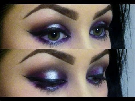 ultimate purple silver party eyeshadow  youtube