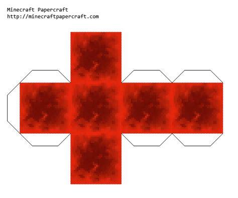 Papercraft Block Of Redstone (faithful 32x)