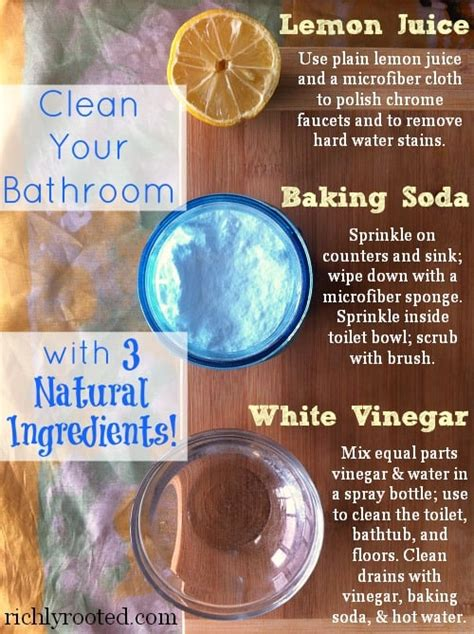 build  natural spring cleaning arsenal richly rooted