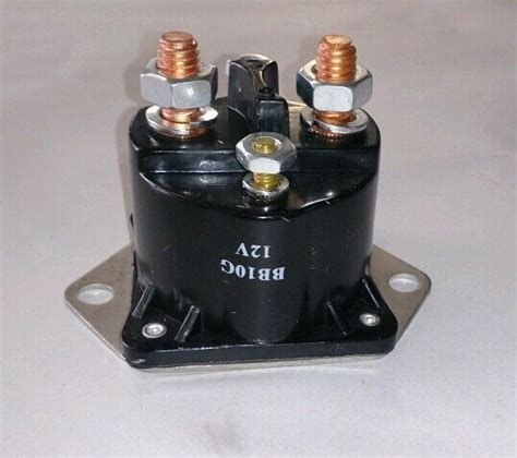 New Starter Power Trim Solenoid For Mercury Outboards