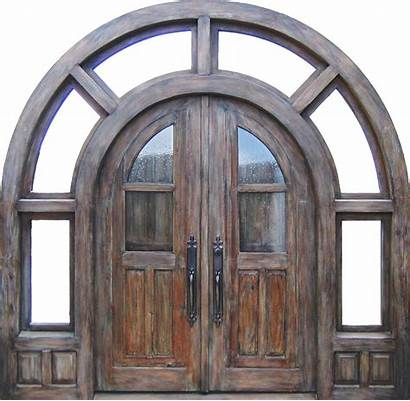 Arched Doors Transom Door Entry Exterior Project