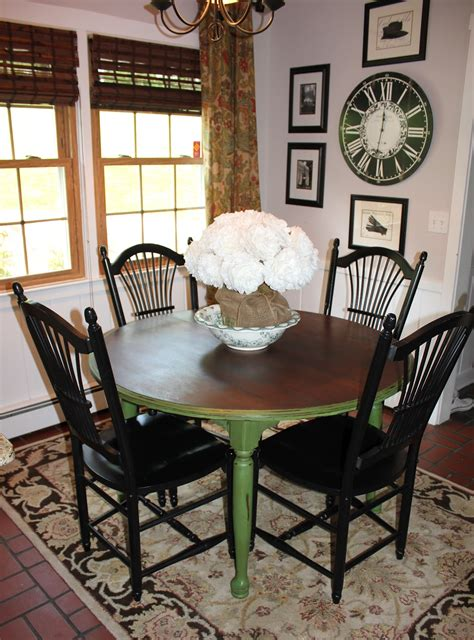 my for decor green with envy the kitchen table makeover