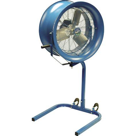 tractor supply shop fans patterson pedestal fan 26in model h26a ps blue