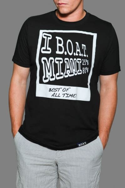 Miami Boat Show Shirts by Time For B O A T Attire Word In Town