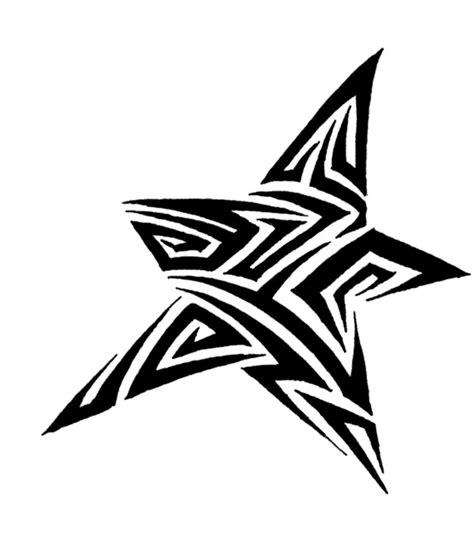 stuning tribal star tattoos  tribal