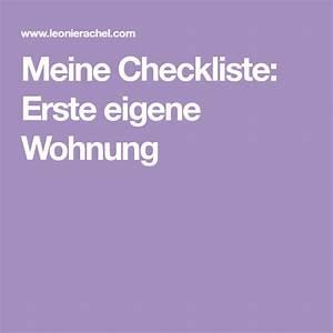 Checkliste Erste Eigene Wohnung : checkliste erste eigene wohnung erste wohnung ~ A.2002-acura-tl-radio.info Haus und Dekorationen