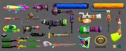 スプラ トゥーン 1 武器 一覧