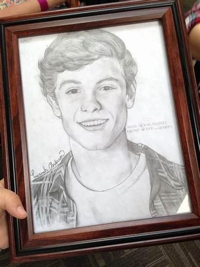 Shawn Mendes Drawings Mtv Drawing Impress Terrify