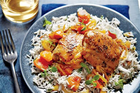 apricot glazed chicken thighs chicken thigh recipes southern living