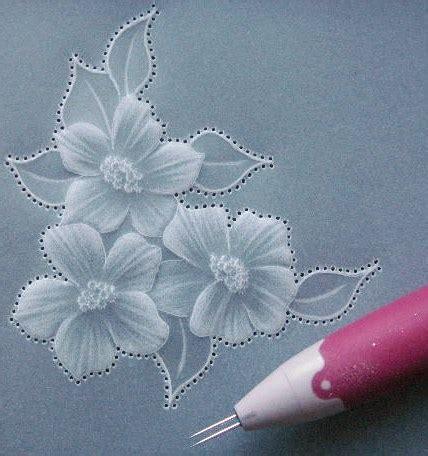 parchment craft  flower embellishment gemini crafts