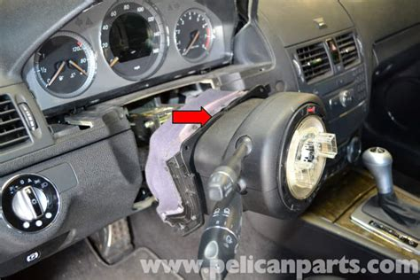 mercedes benz  steering column switchtube module