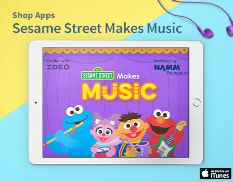 sesame preschool amp coloring pages 397 | Promo460x360 SSMakesMusic