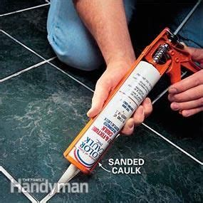 repair grout  cracking diy home repair