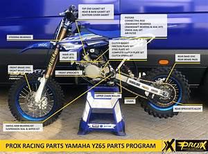 Prox Racing Parts U0026 39  Complete Yamaha Yz65 Parts Lineup