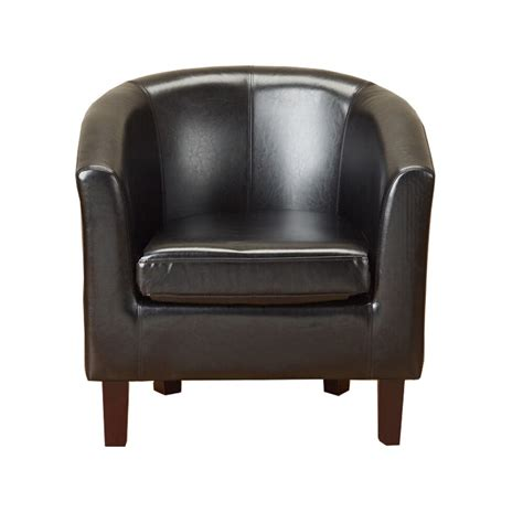 Next Armchair Sale by Black Faux Leather Pu Tub Chair Armchair Dining Living
