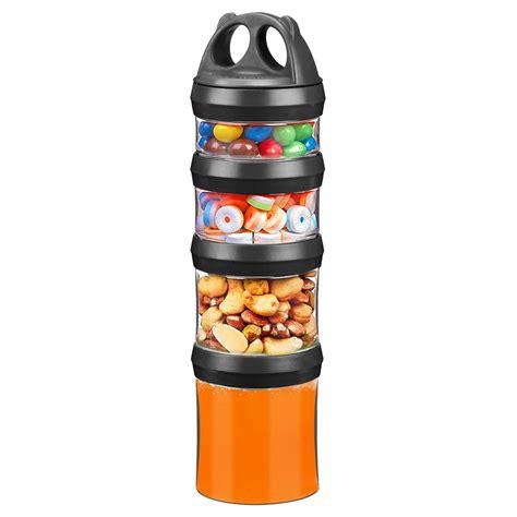 Amazon.com: Besthouse Snack Jars 4-Piece Twist Lock