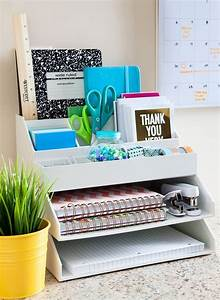 4 Desk Organization Ideas And 25 Examples - Shelterness