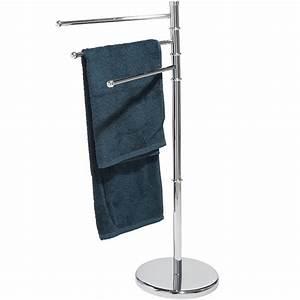 Seche Serviette Sur Pied : porte serviettes sur pied porte serviette salle de ~ Nature-et-papiers.com Idées de Décoration