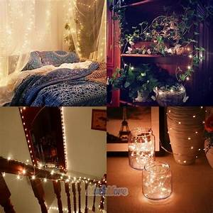 2x, 10m, 33ft, Warm, White, 100leds, String, Fairy, Lights, Home, Bedroom, Party, Decoration