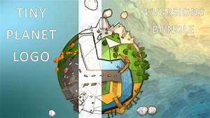 Tiny Planet Logo (Nature) After Effects Templates   F5 ...