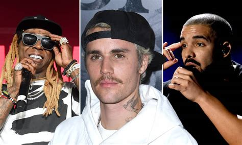Justin Bieber reveals his top five favourite rappers ...