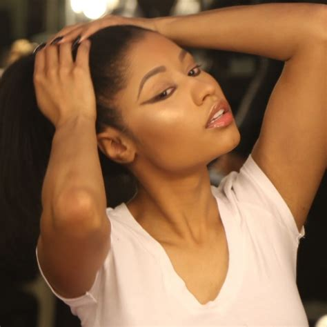 Nicki Minaj Shows Off Natural Hair In The Form Of A