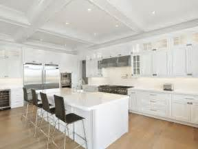 white kitchen island white kitchen island with wood barstools contemporary kitchen