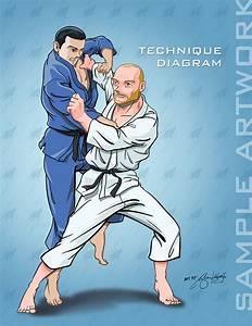 Jiu Jitsu Technique Diagrams  Sample Art  By Lightwolf