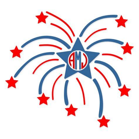 fourth  july fireworks designs svg cuttables