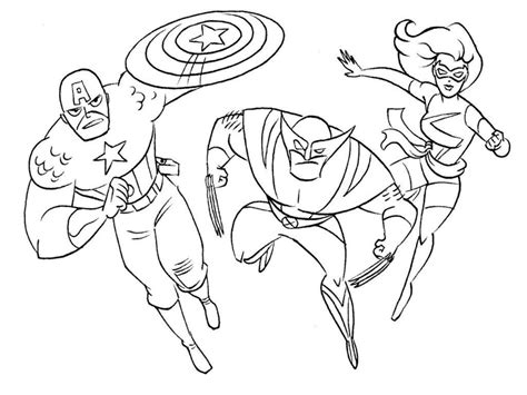 Coloring Pages Free Superhero Coloring Pages Printable