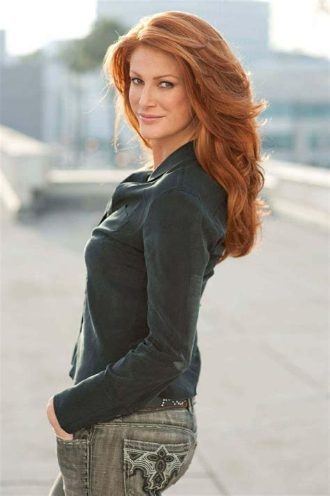 angie everhartone    gorgeous redheads