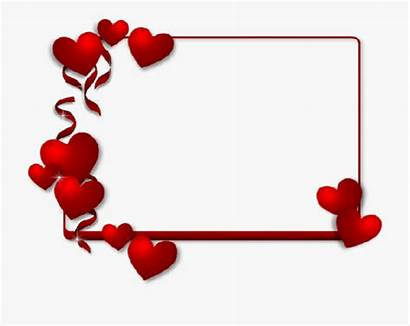 Borders Valentines Frame Clipart Heart Frames Cartoon