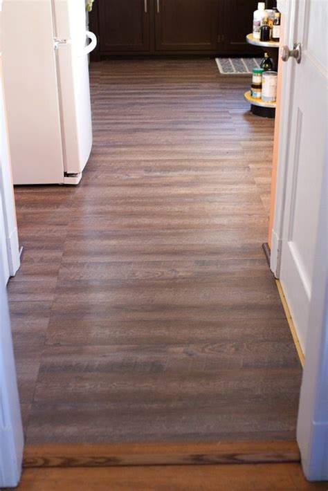 peel and stick vinyl tile inexpensive rustic wood kitchen floors
