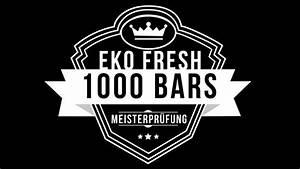 Eko Fresh Die Abrechnung : eko fresh 1000 bars die meisterpr fung youtube ~ Themetempest.com Abrechnung