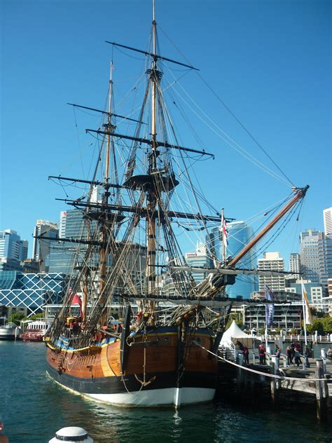 Australia James Cook Ship
