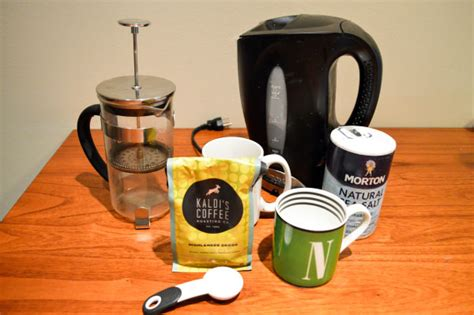 12 oz espresso $1.50 additional shot for an additional charge house coffee fix regular or french. Quick Recipe: French Press Coffee
