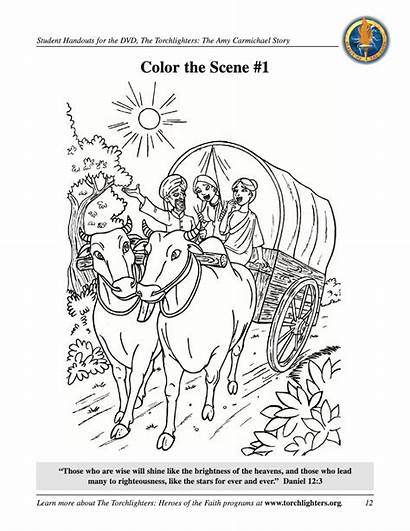 Carmichael Amy Coloring Pages Torchlighters