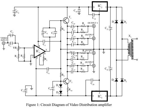 video amplifier circuit page  video circuits nextgr