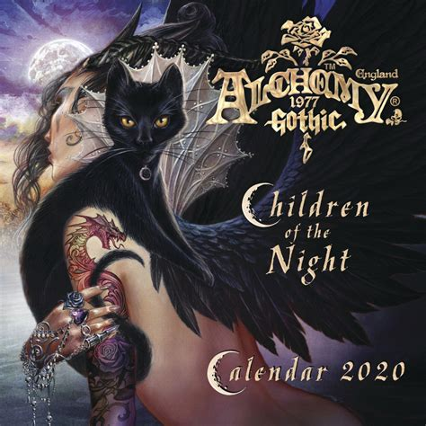 llewellyn worldwide alchemy gothic calendar product summary