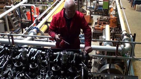 U Boat Diesel Engine by F6v35 World War 1 U Boat Diesel Engine Load Run