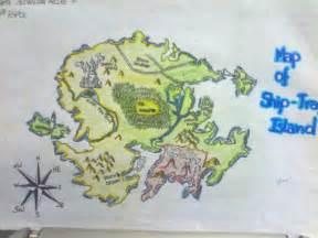 Most Dangerous Game Ship-Trap Island Map