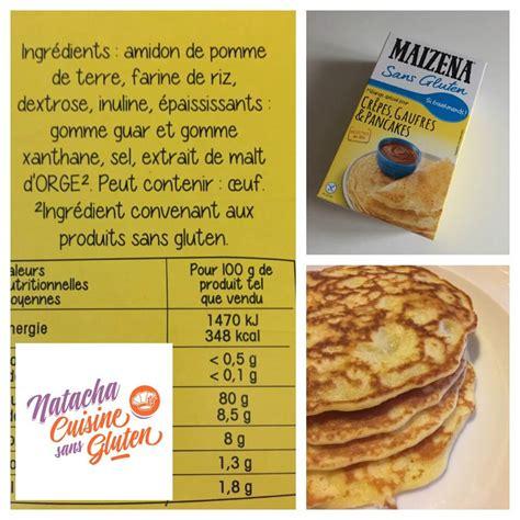 la cuisine sans gluten j 39 ai testé la préparation pour pancakes maizena sans
