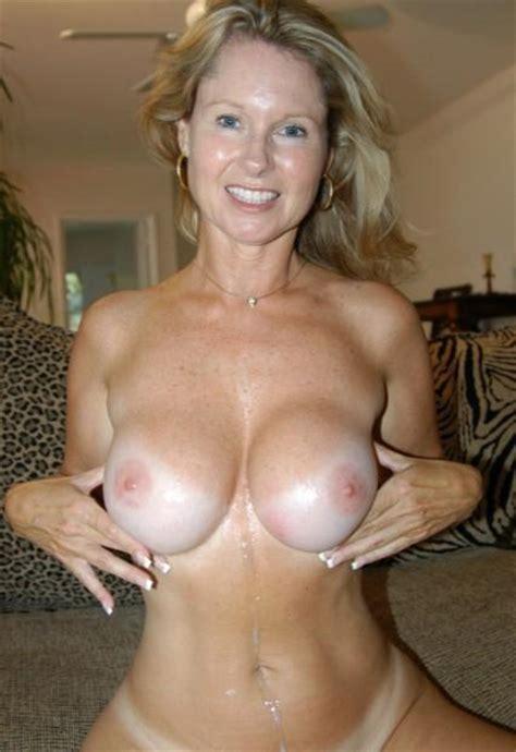 Slutty Milf Gets Cumshot On Her Tits