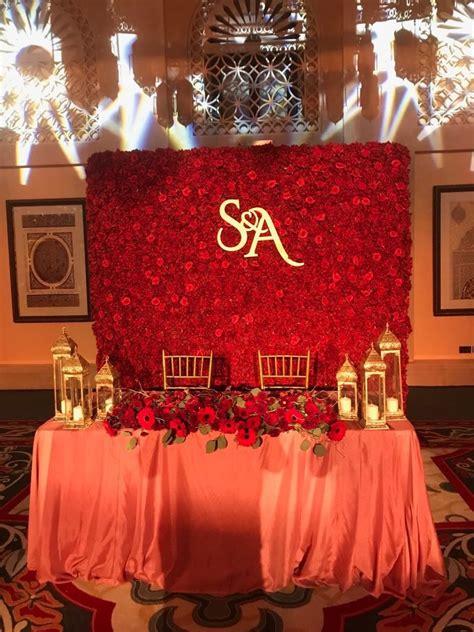 wedding flowers decoration  dubai wedding stage