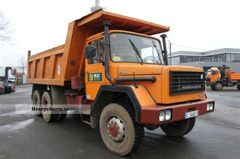 Iveco 255d28 6x6 Tipper 1976 Tipper Truck Photo And Specs