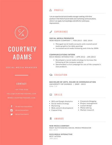 canva resume templates resumes graphic design resume