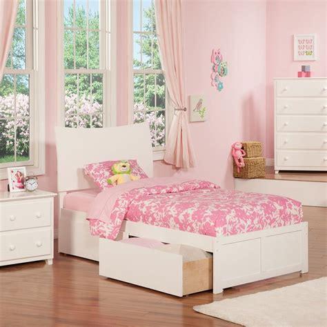 atlantic furniture soho white twin xl platform bed