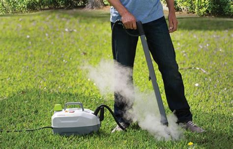 Kill Annoying Weeds With Steam  Dynasteam Geekextreme
