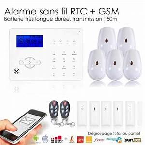 Alarme Voiture Sans Fil : alarme maison iphone et android sans fil gsm revolution xxl ~ Dailycaller-alerts.com Idées de Décoration